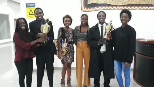 USIU-Africa Public Speaking club wins in Strathmore Mashujaa debate
