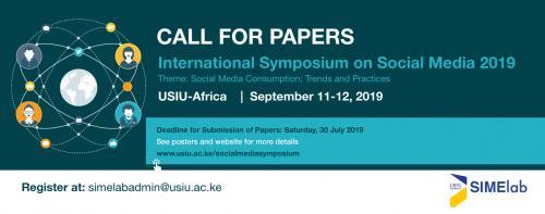 International Symposium on Social Media 2019