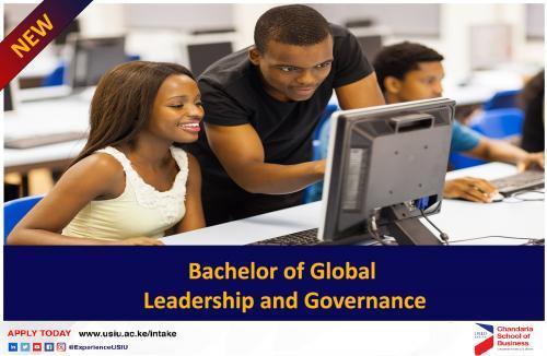 Bachelor of Global Leadership and Governance