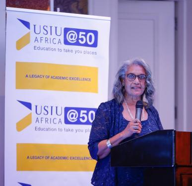 Professor Freida Brown to serve as USIU-Africa Vice Chancellor in Interim Capacity